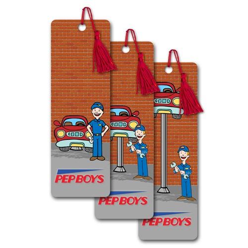 Lenticular bookmarks