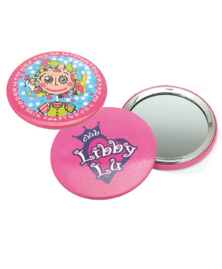 Badges with mirror