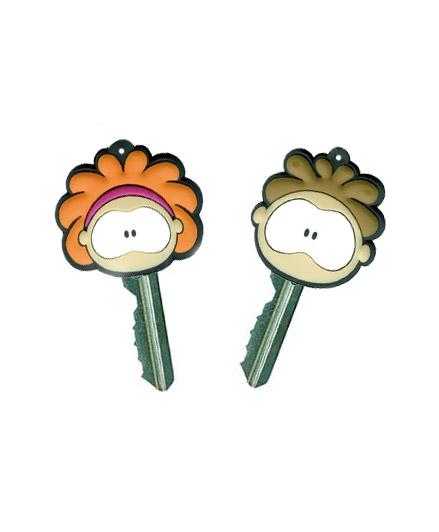 Cabeça de chaves com luz borracha pvc flexível