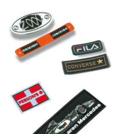 Etiquetas de goma pvc blando para ropa