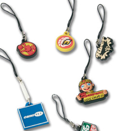 Soft pvc mobile charms