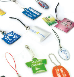 Screen cleaner mobile charms