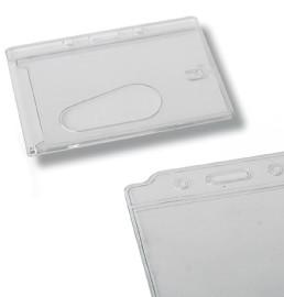 Portatarjetas transparentes