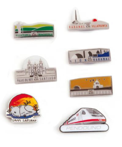 Pins printing a todo color forma especial