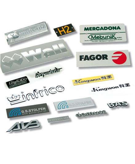 Aluminium plaques