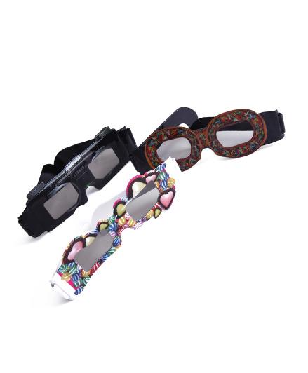 Gafas 3D con printing de plástico