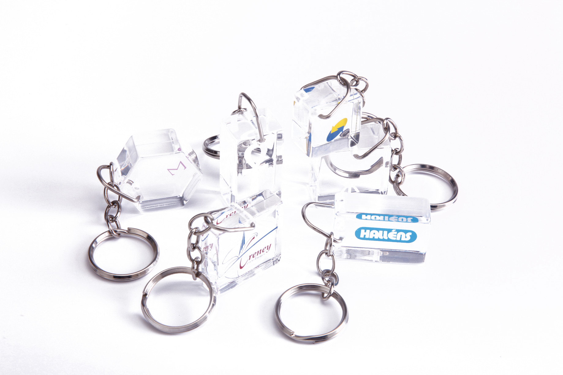 METACRISTAL keyrings