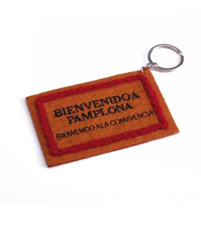 Doormat keyring