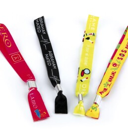 Fabric Wristbands – Identification