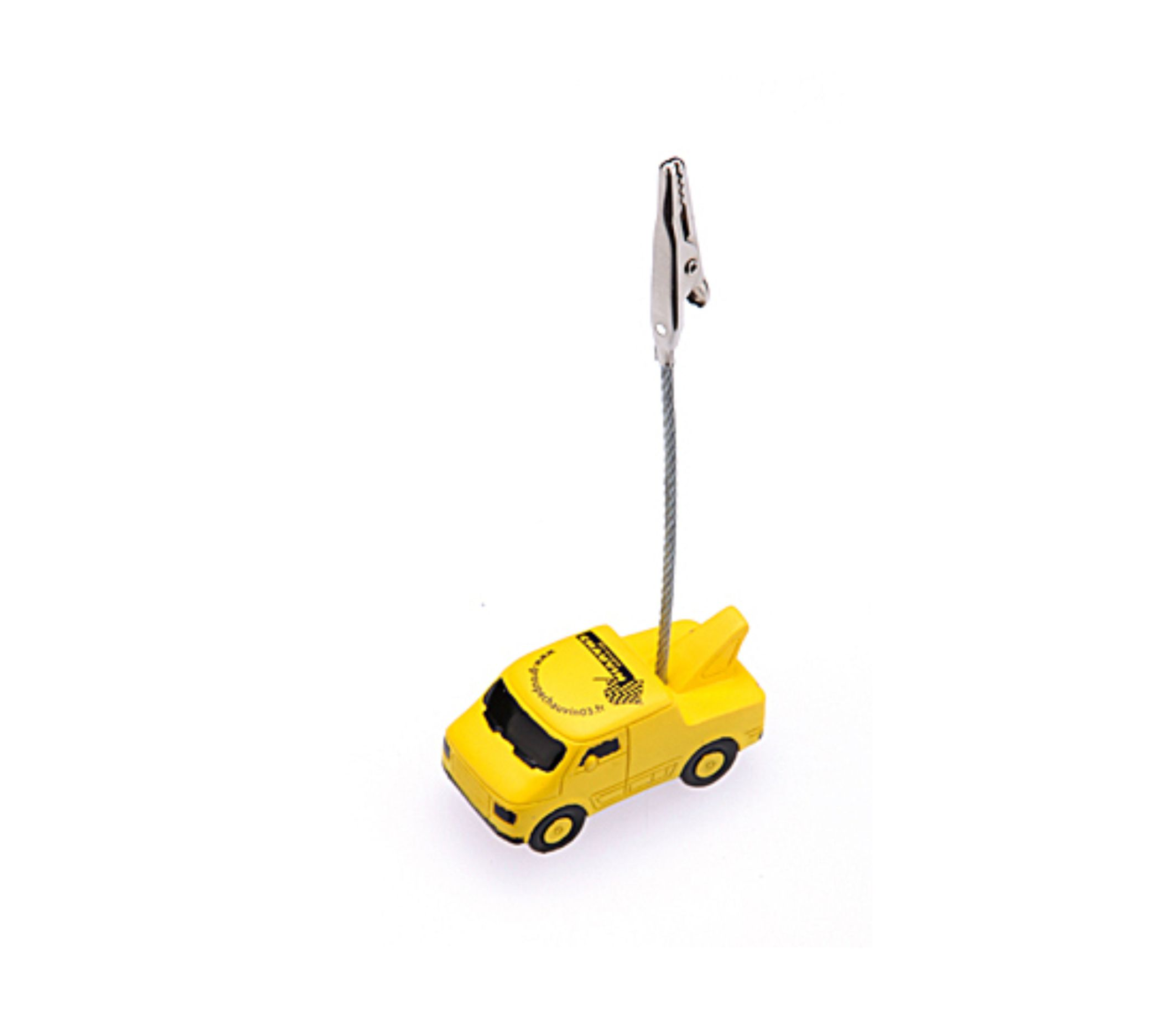 Memo-clip with 3D Miniature