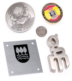 Logos, medals, plaques,...