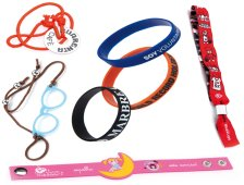 Bracelets, bands and wristbands