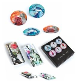 Imanes de cristal