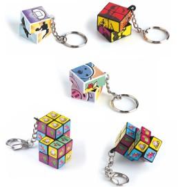 Llaveros cubo PUZZLE