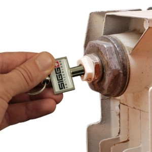 Radiator and meter box opener keyrings