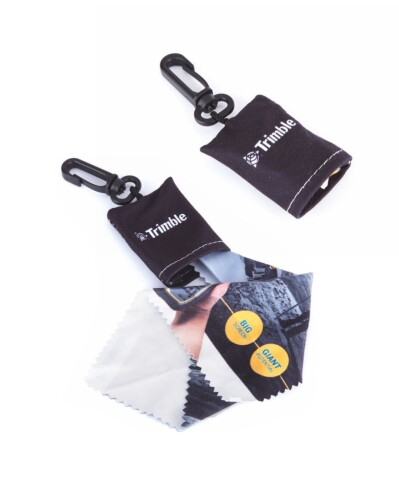 Microfiber cloth keyrings