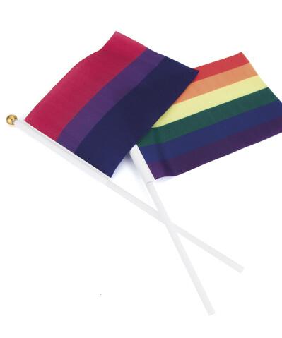 Banderas de poliéster