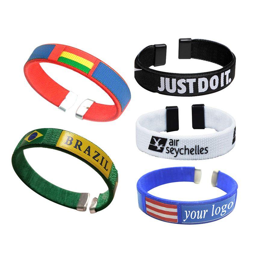 Polyester bracelets
